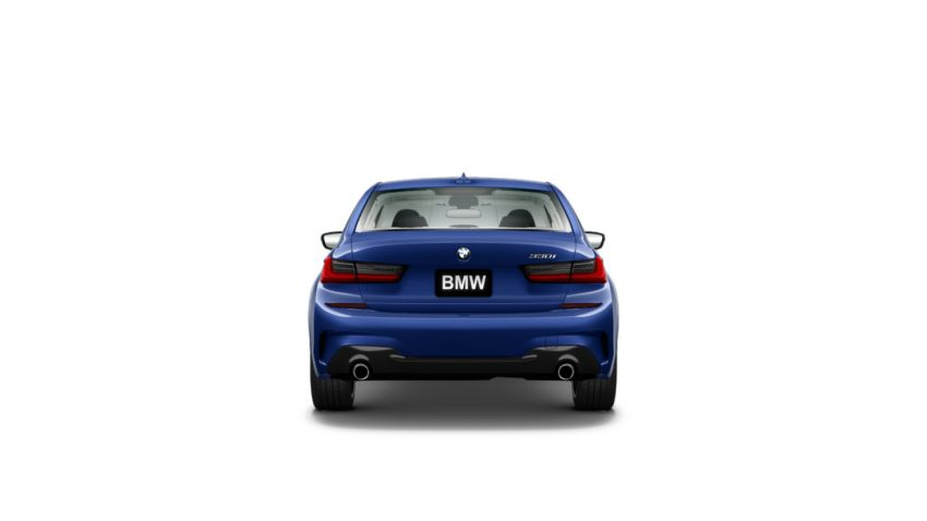 330i med M Sport-paket, Style 792M fälgar, Portimao Blue metallic