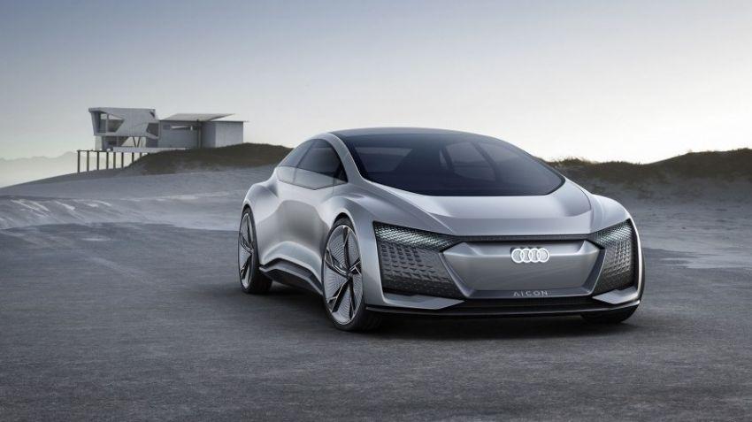 Audi visar självkörande Aicon