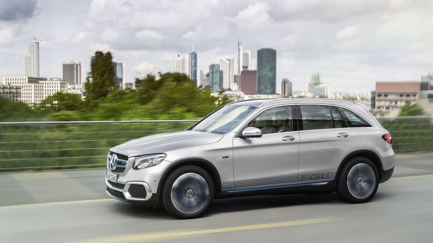 Mercedes GLC F-cell närmar sig produktion