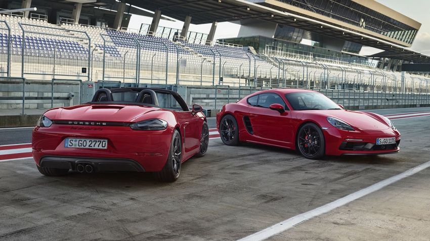 Porsche 718 får GTS-variant