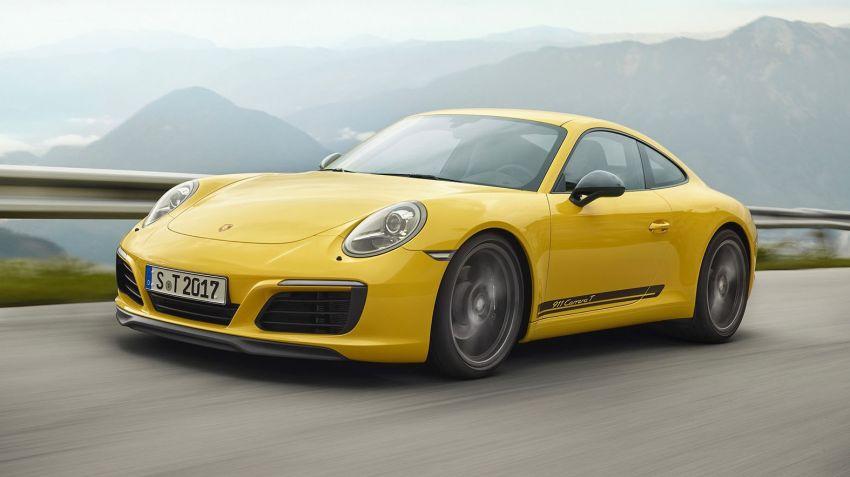 En Porsche för puristerna: 911 Carrera T