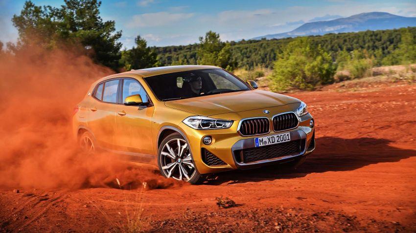 BMW lanserar X2