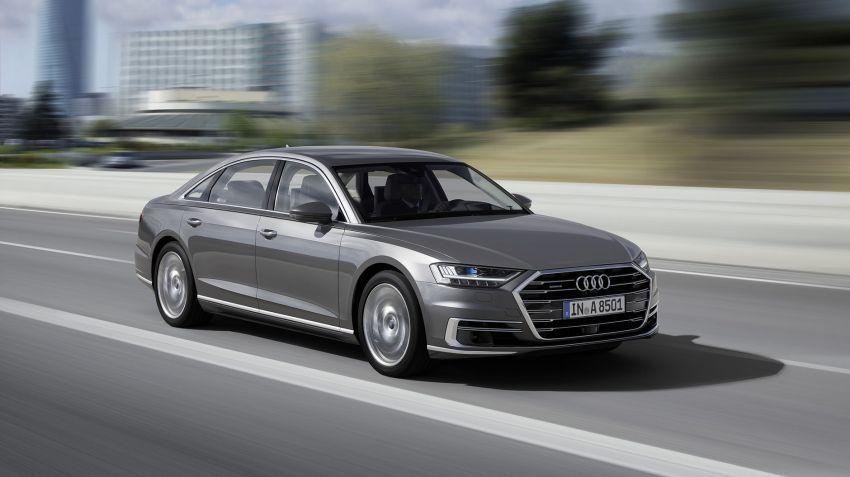Säljstart för Audi A8