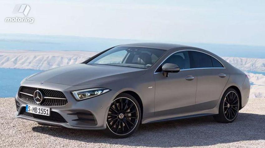 Nya Mercedes CLS läcker