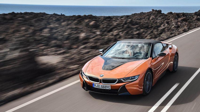 Lanserad: BMW i8 Roadster