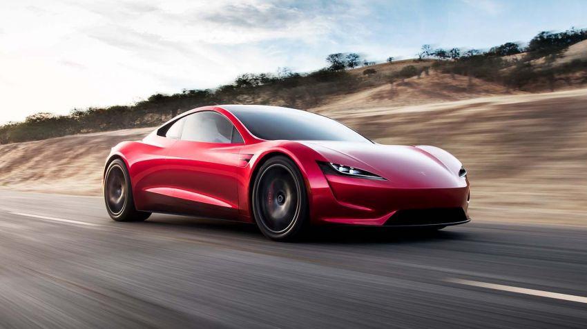 Nya Tesla Roadster