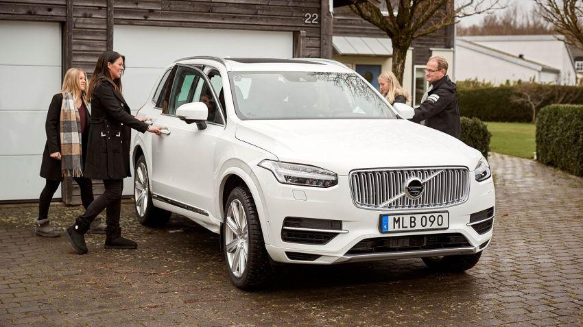 Volvo testar självkörning i Göteborg