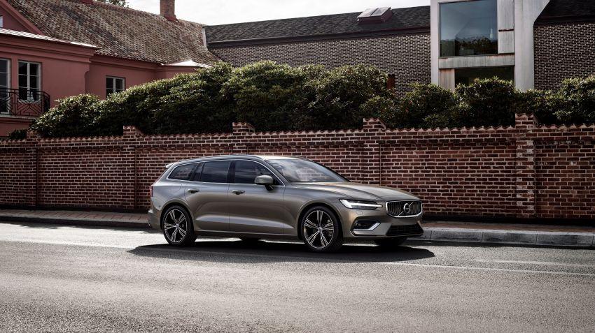 Volvo lanserar nya V60