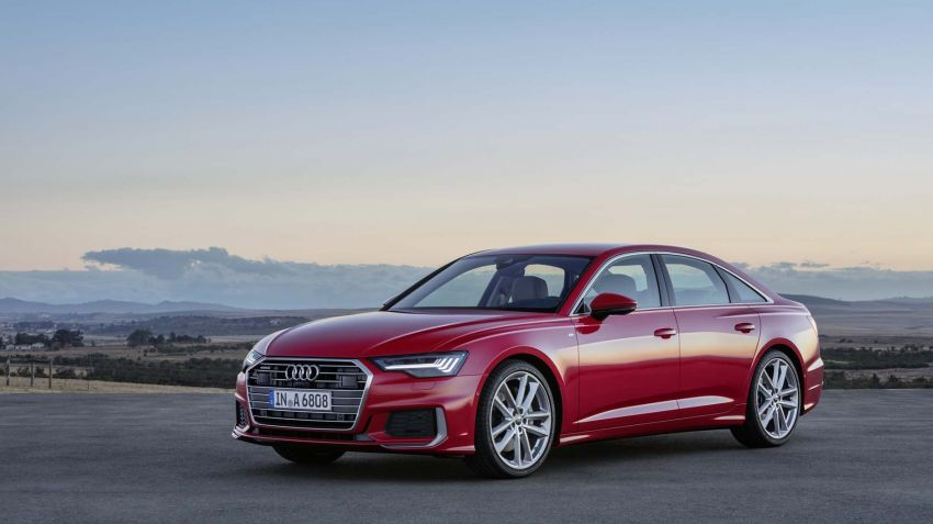 Lanserad: Nya Audi A6