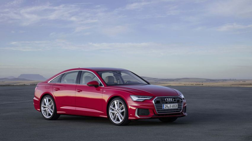 Nya Audi A6 nu beställbar