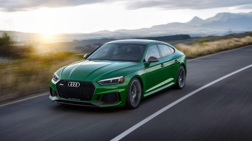 Audi lanserar RS5 Sportback