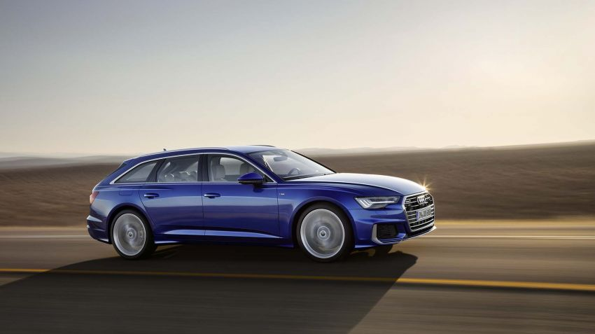 Nya Audi A6 nu som kombi