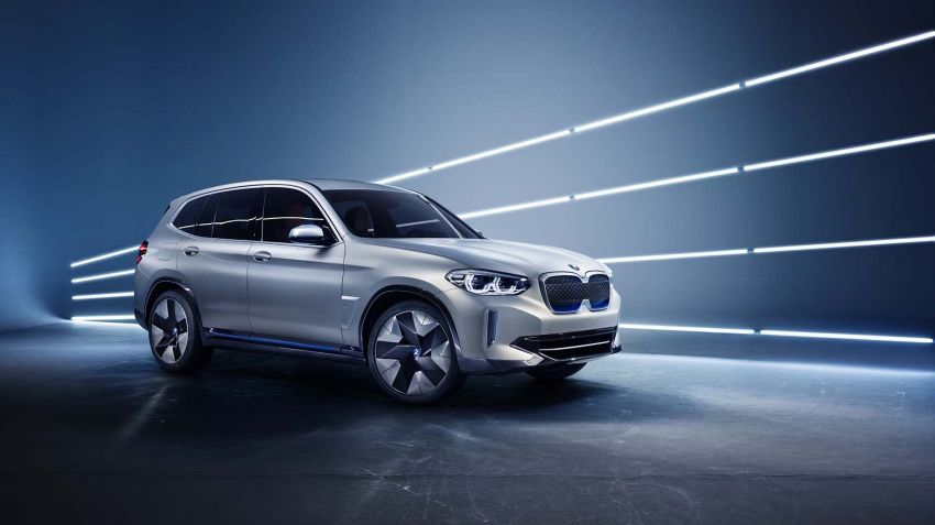 BMW förhandsvisar helelektriska iX3