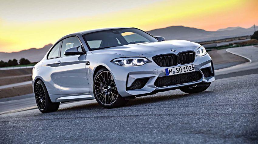BMW lanserar M2 Competition