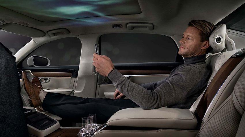Volvo visar lyxigt interiörkoncept till S90