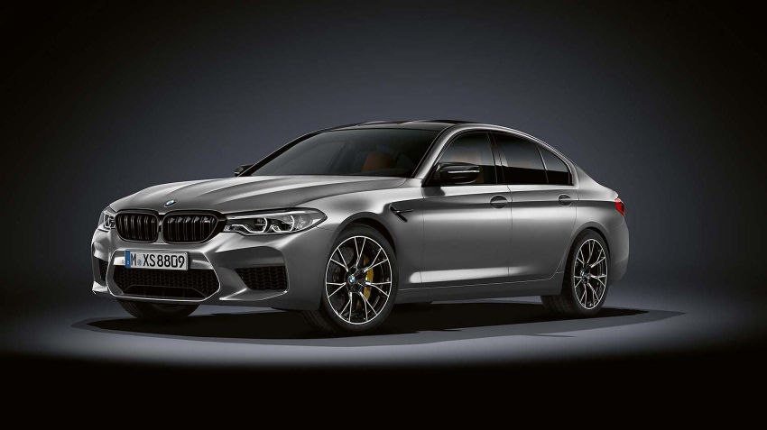 BMW lanserar M5 Competition