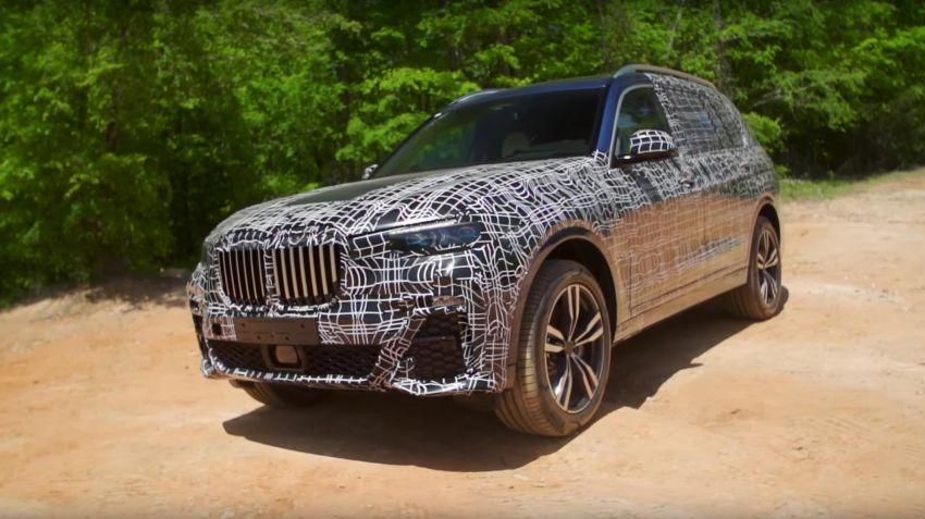 BMW visar halvfärdig X7