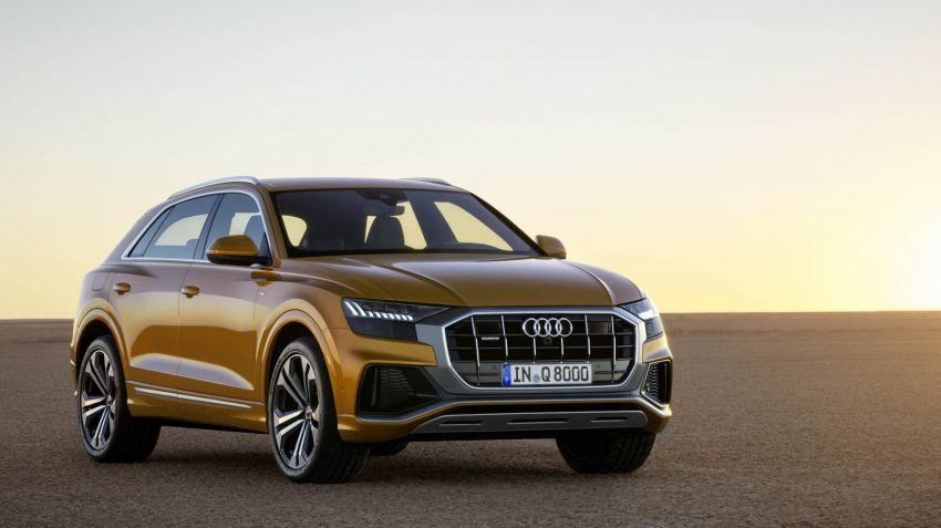 Audi lanserar Q8