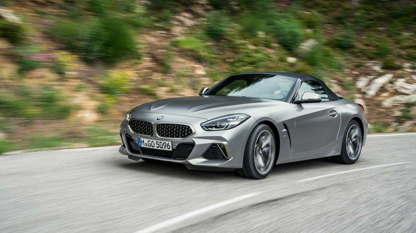 Fler drivlinor till nya BMW Z4