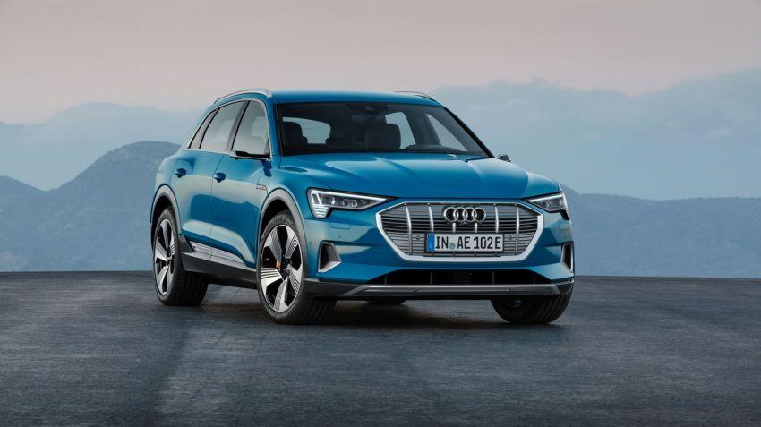 Audi lanserar elektriska E-tron