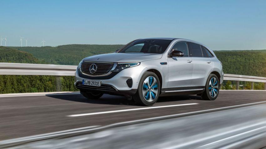 Mercedes presenterar elbilen EQC