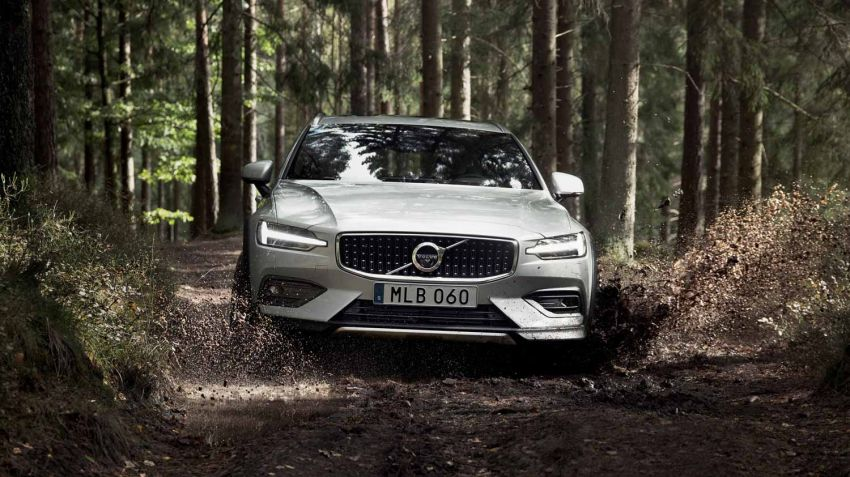 Volvo presenterar nya V60 Cross Country