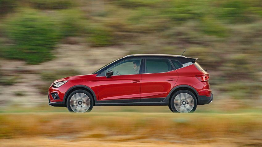 Seat Arona blir första SUV:en med gasdrift