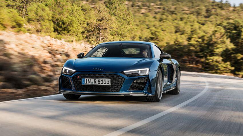 Audi uppdaterar sportbilen R8