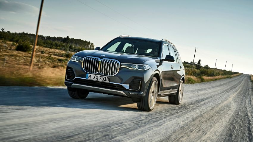 BMW lanserar gigantiska X7
