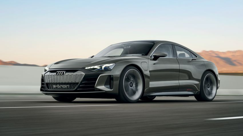 Audi visar elsportbilen e-tron GT