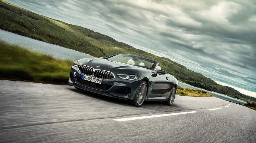 BMW lanserar 8-serie cabriolet