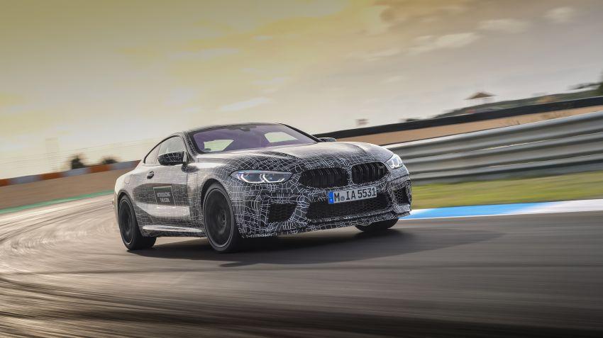 BMW M8 får drivlina från M5