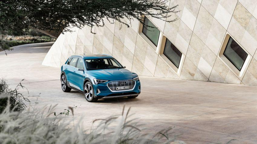 Så här effektiva är Audi e-trons kamerabackspeglar