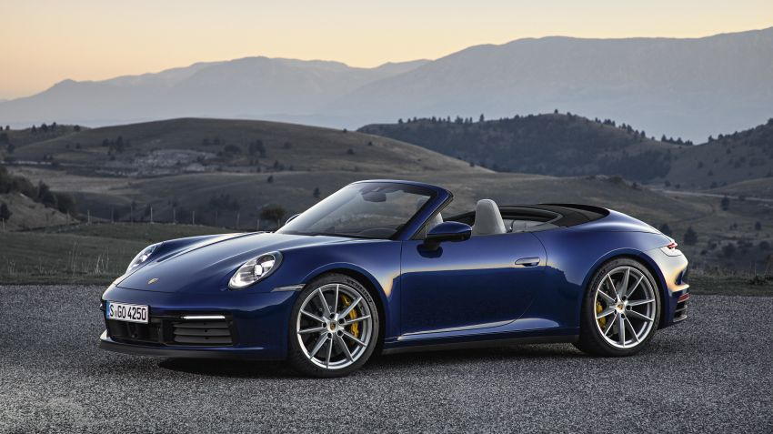 Porsche lanserar nya 911 Cabriolet