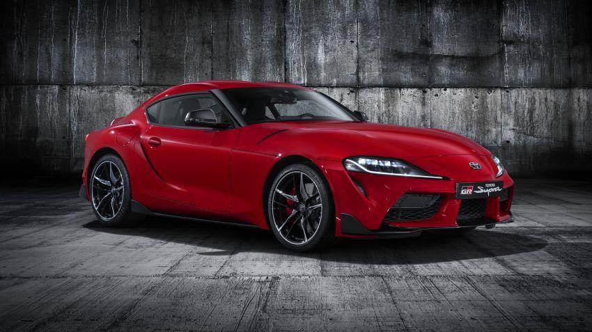 Toyota presenterar nya GR Supra