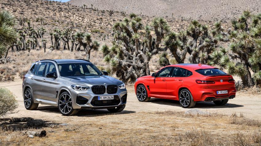 BMW lanserar X3M och X4M
