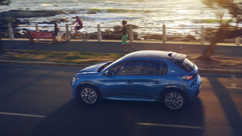 Nya Peugeot 208 – nu även med eldrift
