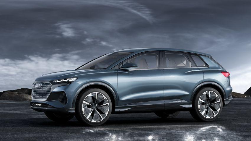 Audi visar konceptbilen Q4 e-tron