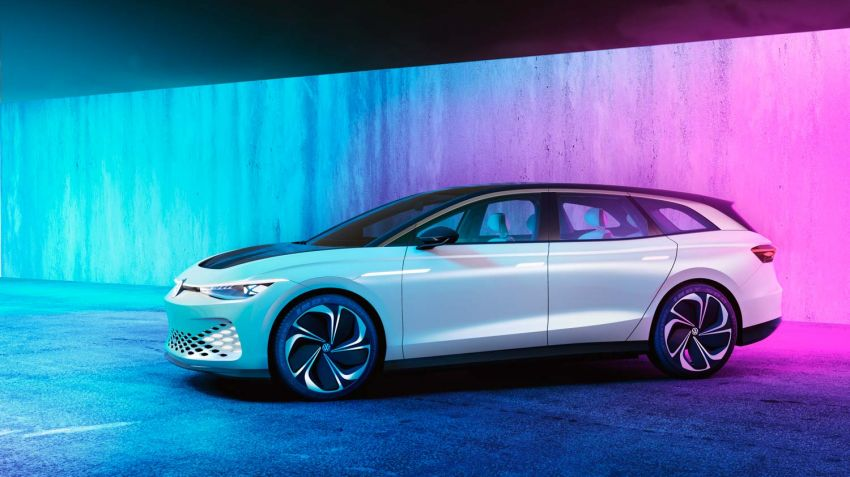 Volkswagen lanserar eldrivet kombikoncept